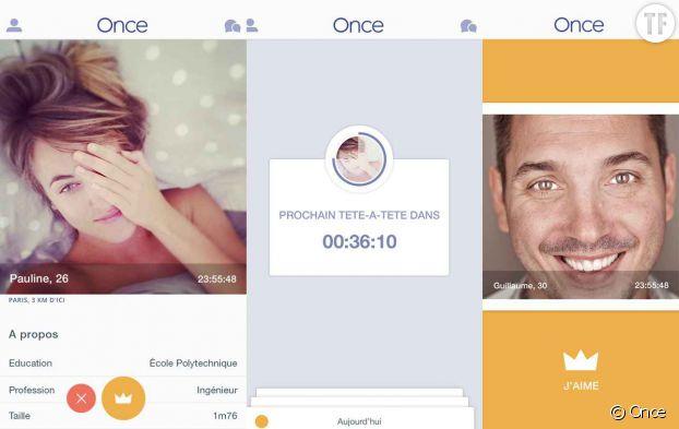 L'app Once