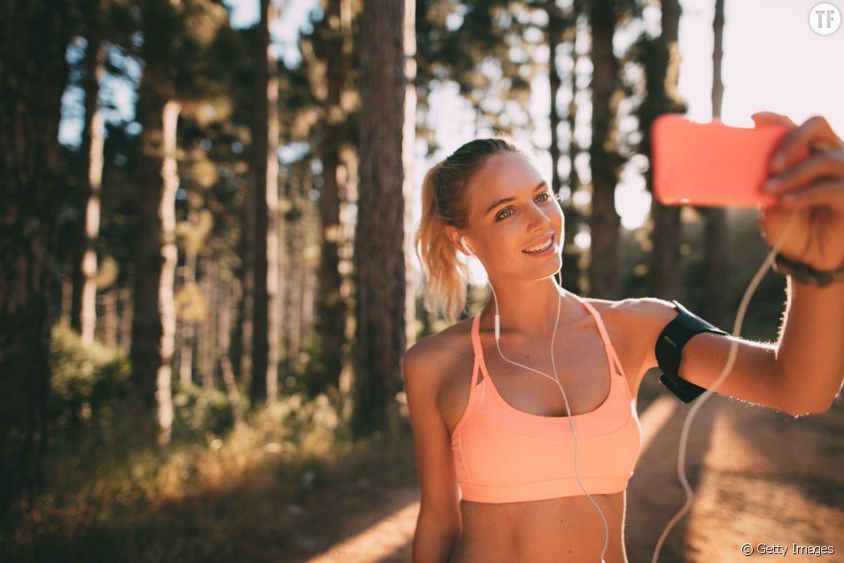 Les bienfaits du selfie sportif