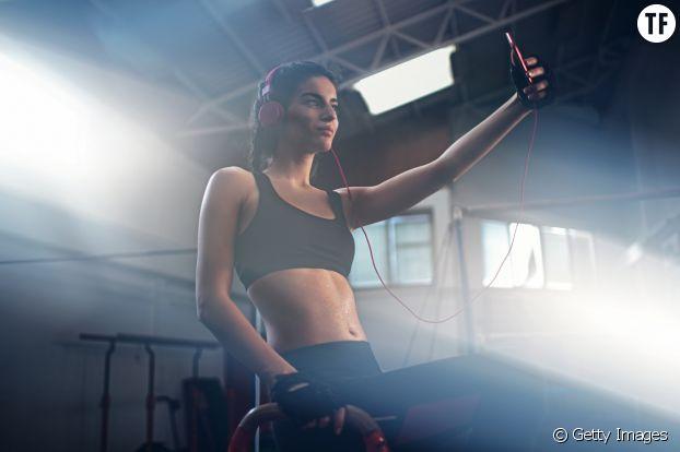 Le selfie de sport