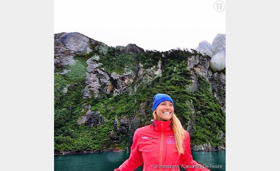 Cette jeune femme s'apprête à visiter le monde entier en un temps record