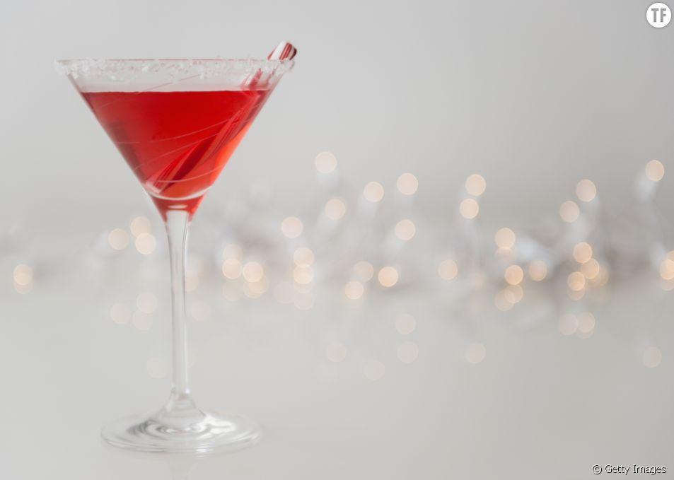 La recette du cocktail Mimosa cranberry et paillettes