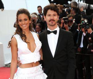 Lucie Lucas et son mari Adrien au Festival de Cannes en 2015