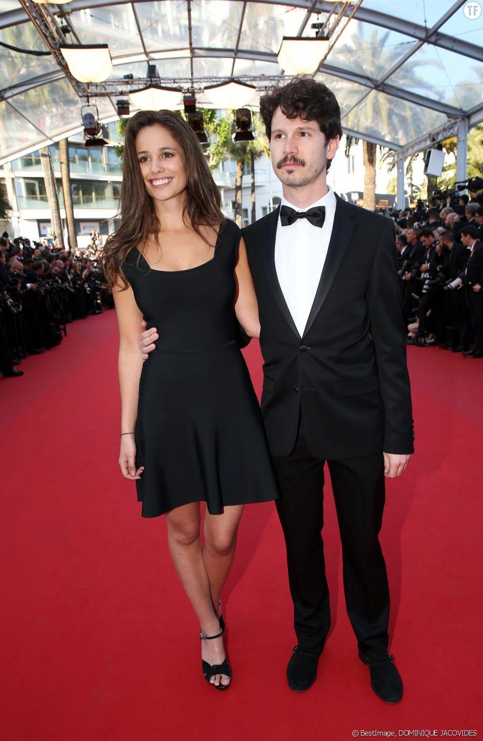 La comédienne Lucie Lucas et son époux