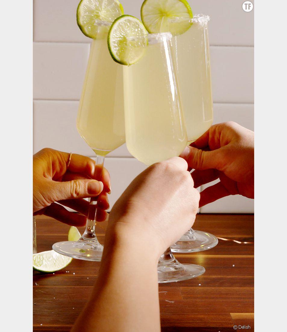 Recette de la Margarita au champagne
