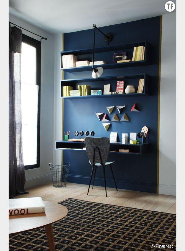 Tendances 2017 : décoration bleue