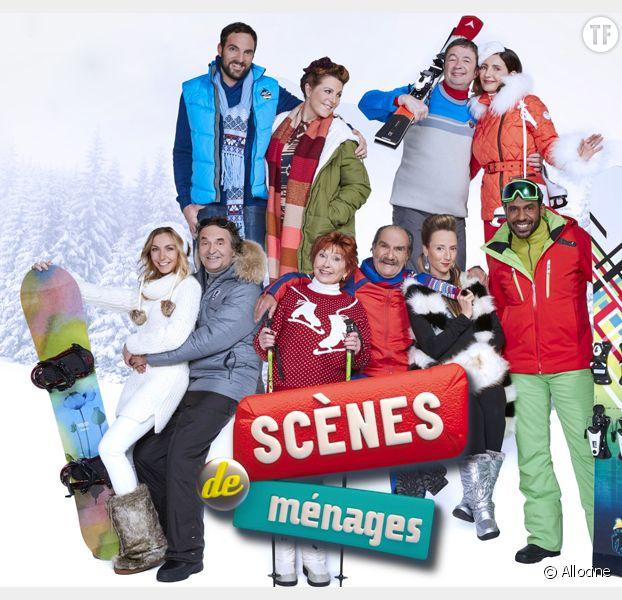 scènes de ménages : revoir l'épisode enfin à la montagne sur m6