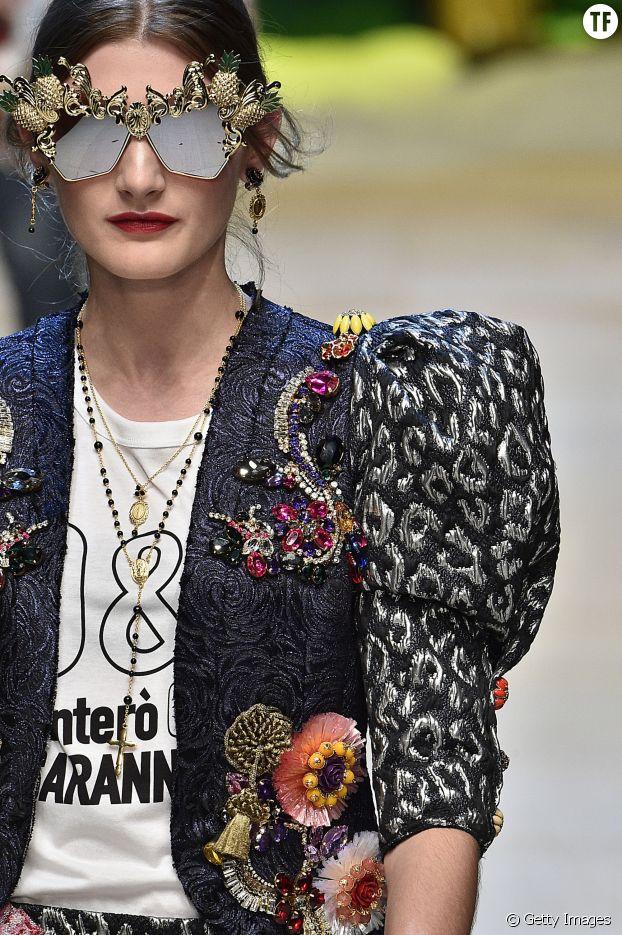 Défilé Dolce & Gabbana printemps - été 2017