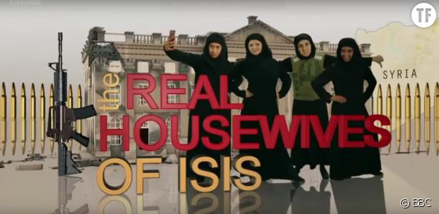 Les héroïnes du sketch comique de la BBC, Real Housewives of ISIS