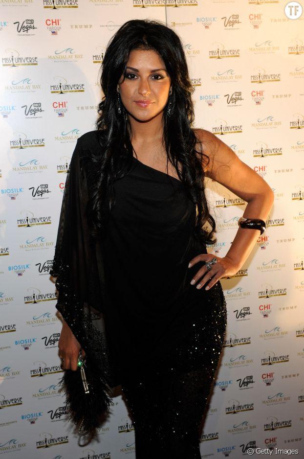 Tala Raassi au concours de Miss Univers