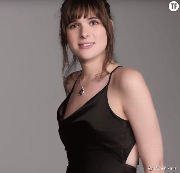 Le mannequin transgenre Hari Nef dans la nouvelle publicité L'Oréal Paris