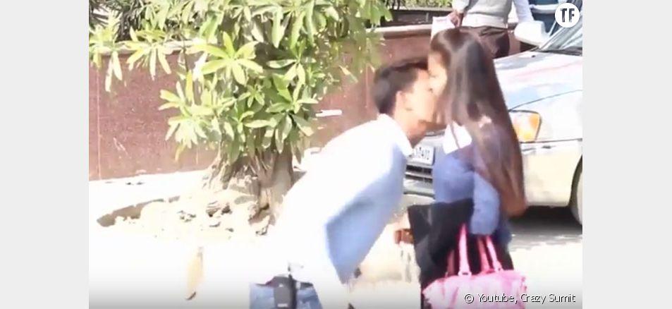 Capture d'écran de la vidéo de Crazy Sumit, aujourd'hui supprimée