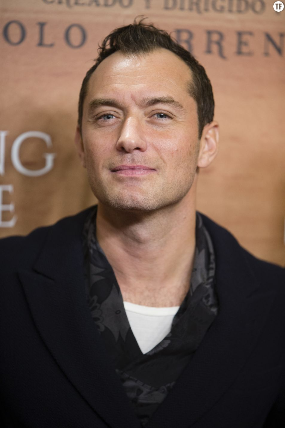 "Jude Law à la première de la série ""The Young Pope"" à Madrid, le 11 octobre 2016."
