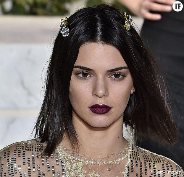 Kendall Jenner et son carré long au défilé La Perla