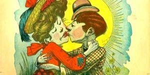 """Envoyer des """"cartes vinaigrées"""" à la St-Valentin, la tendance acide de l'époque victorienne"""