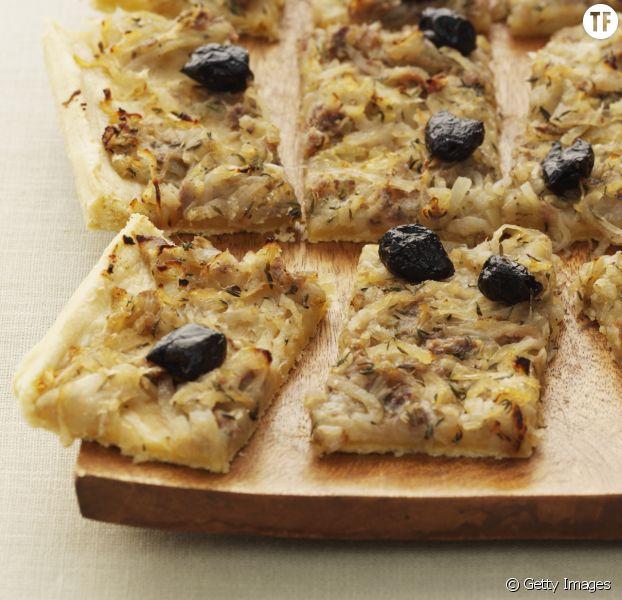 La recette de la pissaladière pour l'apéro