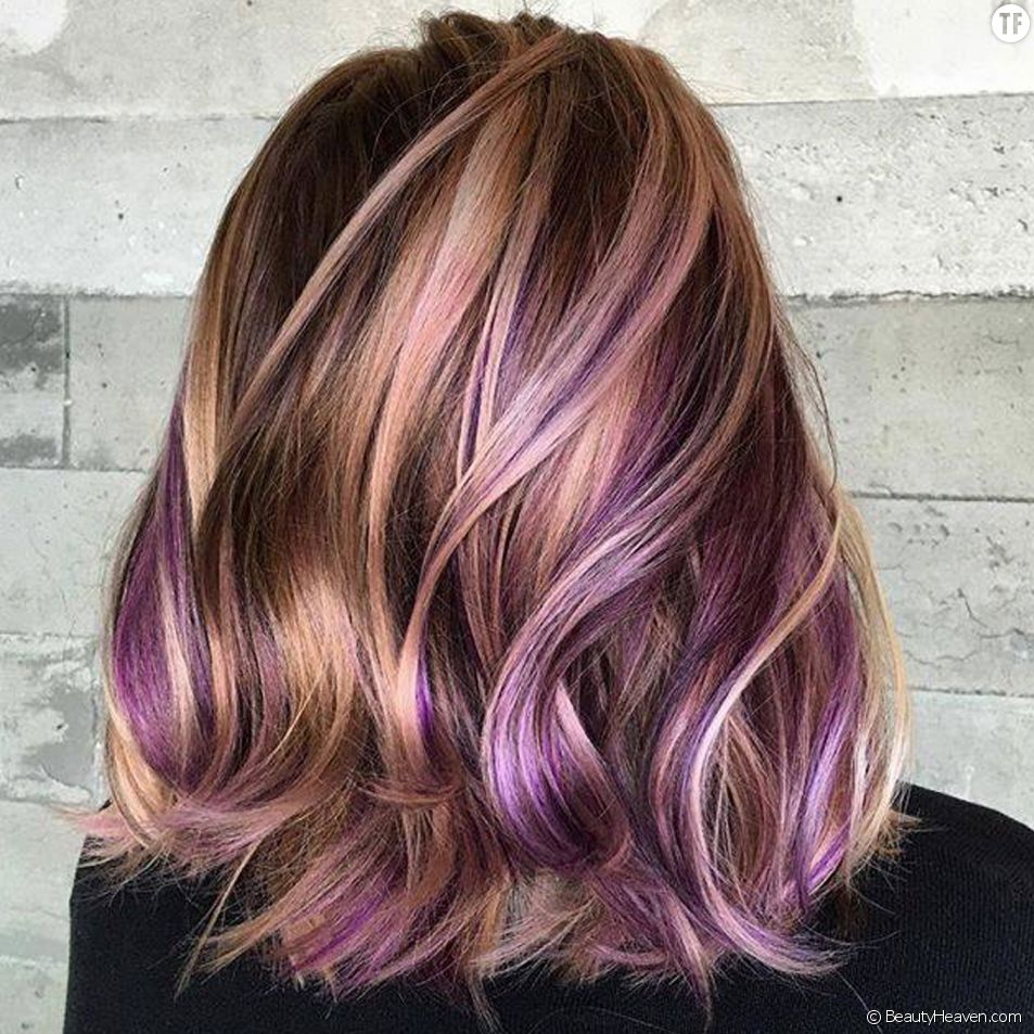 Peanut butter and jelly hair, la coloration tendance