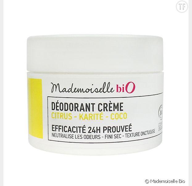 Déodorant crème au citrus, Mademoiselle Bio