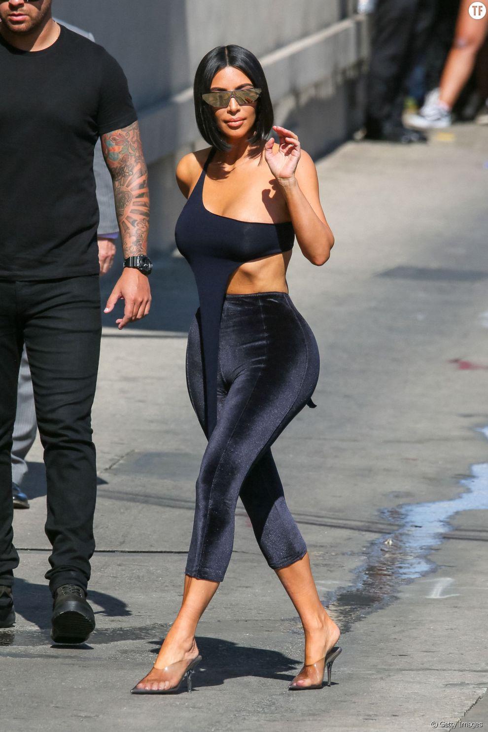 Kim Kardashian le 30 juillet à Los Angeles
