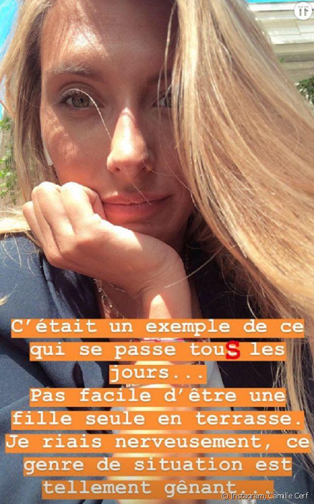 Camille Cerf sur Instagram