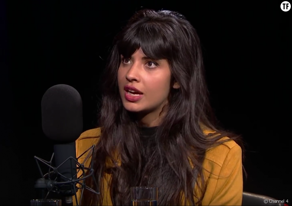 Jameela Jamil sur Channel 4