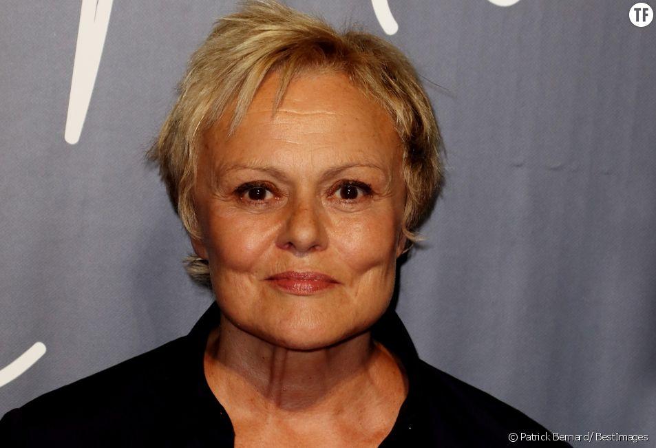 Muriel Robin à la projection du téléfilm Jacqueline Sauvage : C'était lui ou moi, au festival international du film de La Rochelle le 13 septembre 2018.