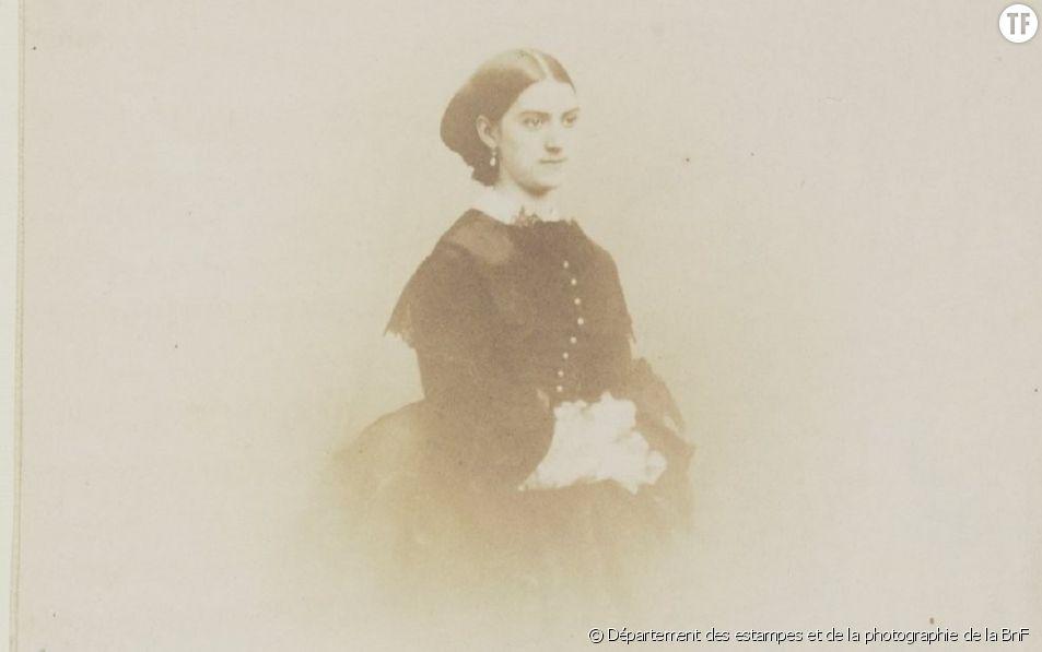 """Constance Quéniaux était danseuse à l'Opéra. En 1866, année où Gustave Courbet a peint """"L'Origine du monde"""", l'artiste avait 34 ans."""