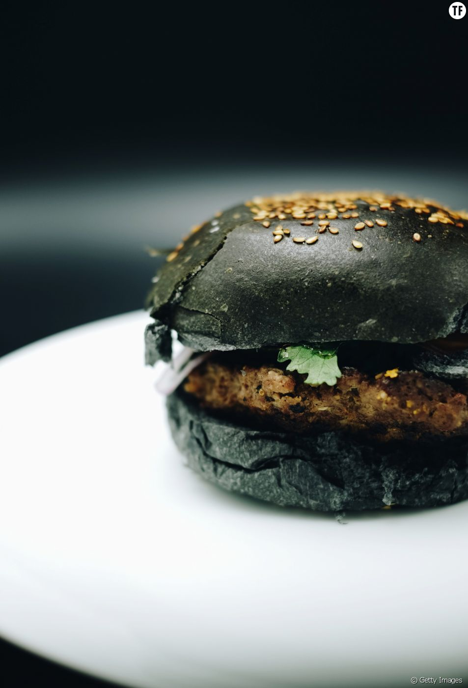 La recette du Black Burger