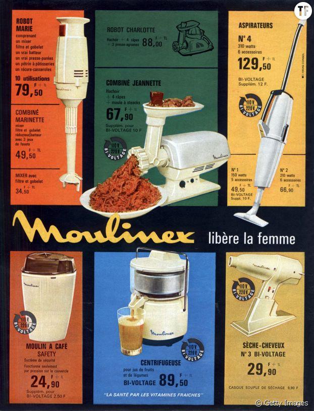 Publicité Moulinex de 1963