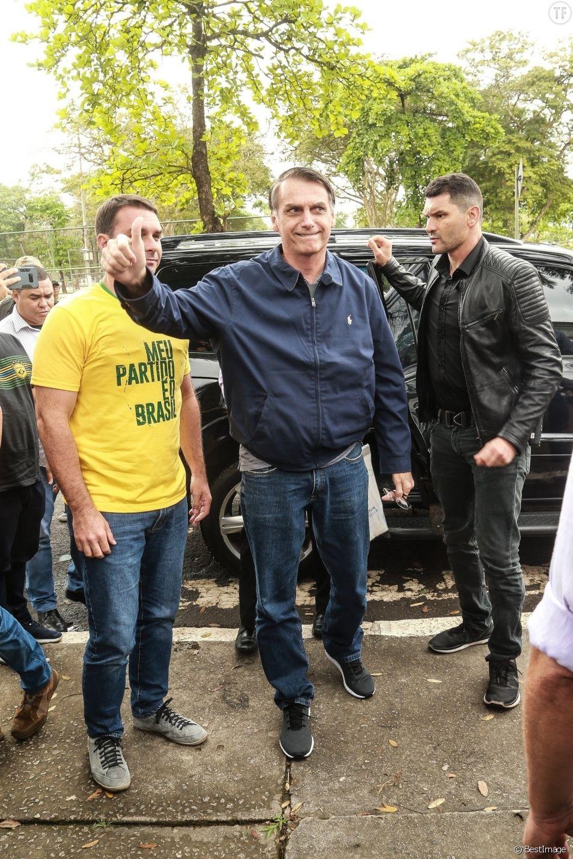Jair Bolsonaro le 7 octobre 2018