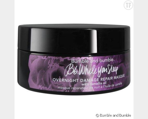 Masque de nuit While You Sleep, Bumble and Bumble.