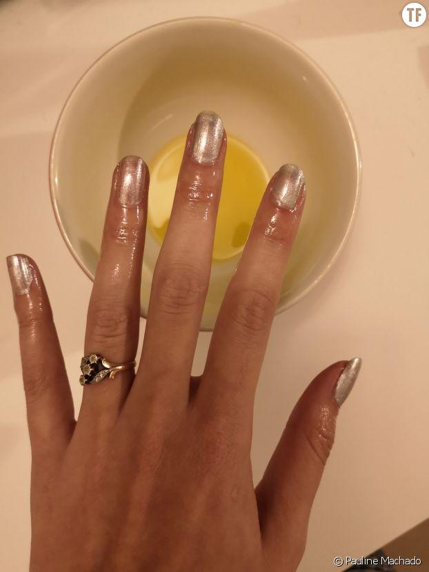L'huile et la main.