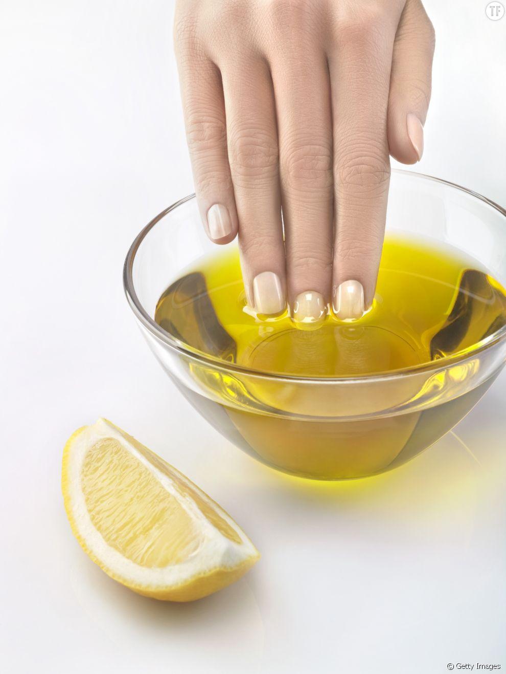Faire sécher son vernis avec de l'huile d'olive