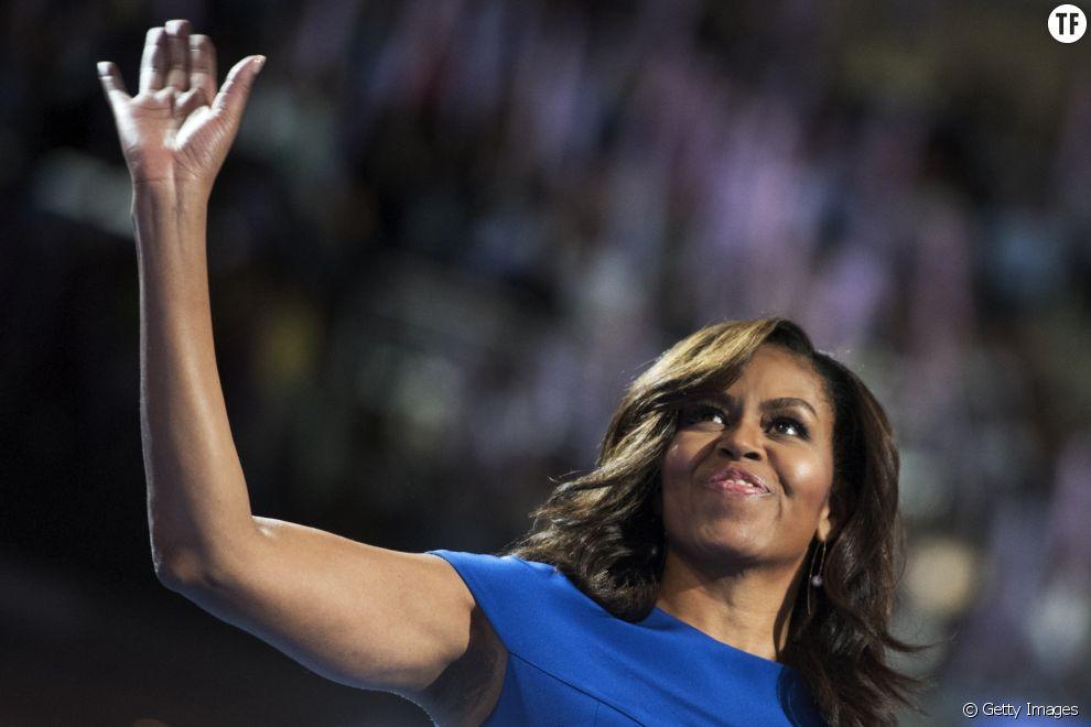 Michelle Obama apporte son soutien à la candidate démocrate Hillary Clinton