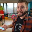 Le youtubeur Cyprien