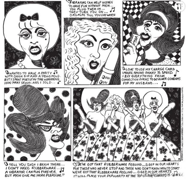 Levée de fonds pour traduire la série de comics Wimmen's comix en français