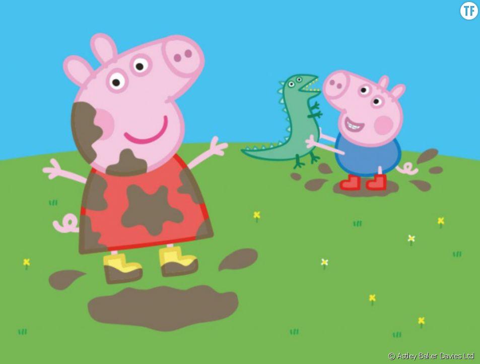 Le dessin animé Peppa Pig
