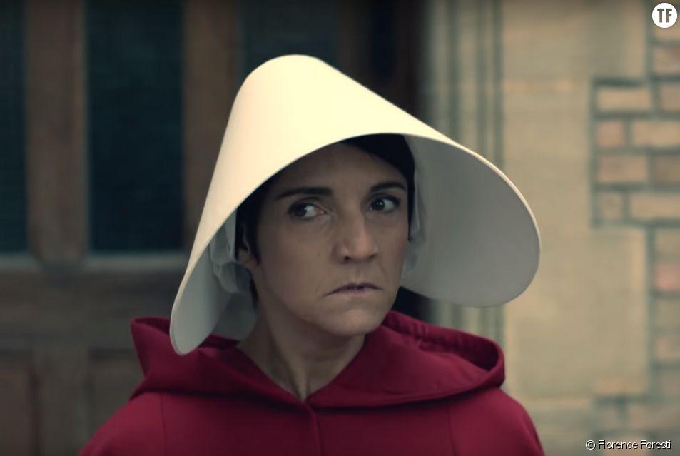 Florence Foresti dans une parodie de The Handmaid's Tale