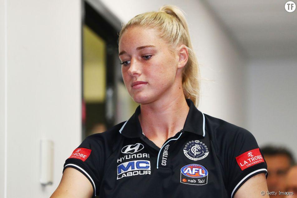 La joueuse de football australien Tayla Harris