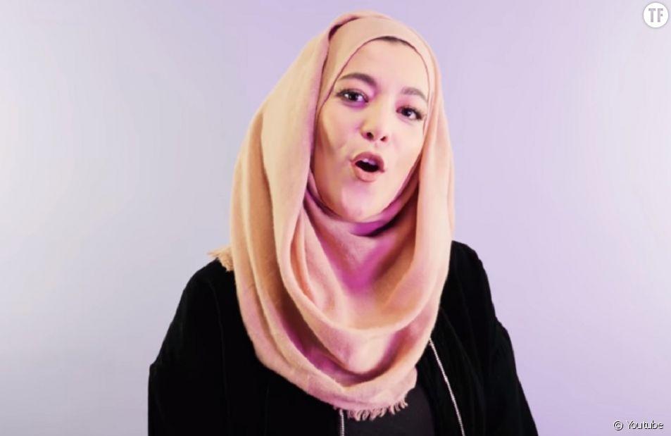 """Elle transforme le clip de """"Balance ton quoi"""" en hymne contre l'islamophobie"""