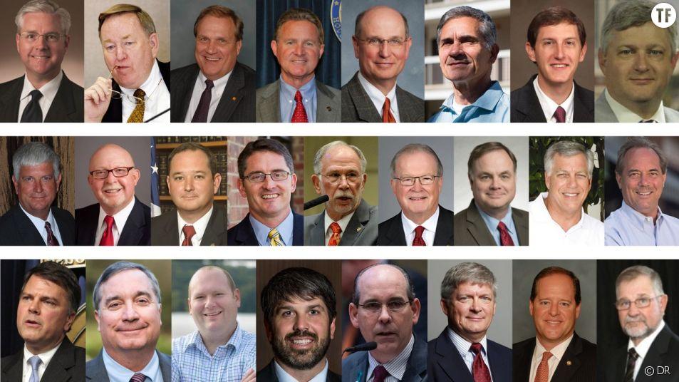 Les 25 sénateurs de l'Alabama qui ont voté la loi anti-avortement