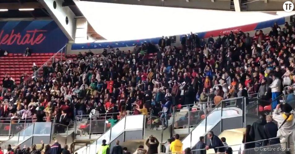 L'Hymne des femmes chanté lors d'un match à Rennes