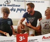 Homoparentalité : quand Auchan se paie l'affiche (et nos têtes) pour la Fête des pères