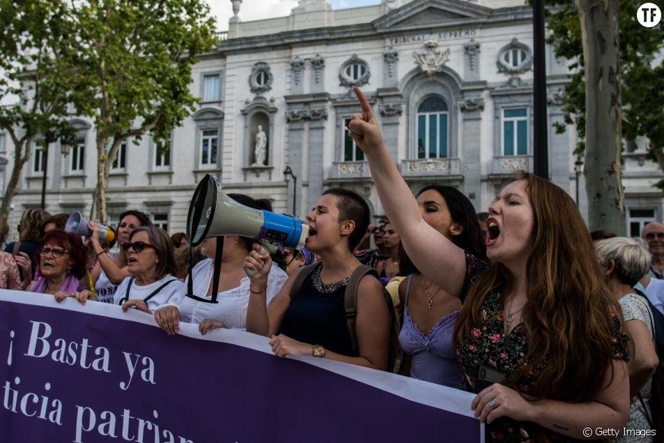 Manifestations féministes en Espagne le 21 juin 2019