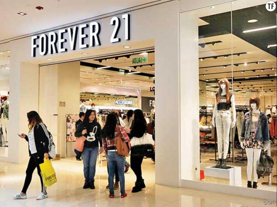 La marque Forever 21 envoie des barres diététiques aux clientes grande taille
