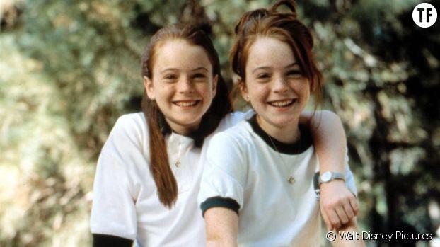 """""""A nous quatre"""", avec Lindsay Lohan (fois deux)."""