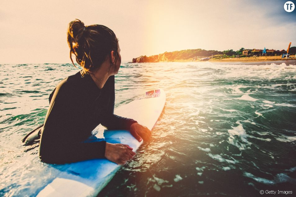 Le surf peut être une forme de thérapie.