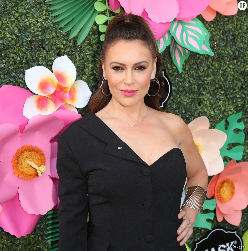 Alyssa Milano le 20 mai 2019 à Los Angeles