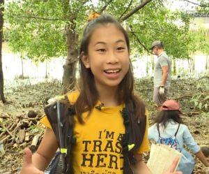 """Lilly, la """"Greta Thunberg thaïlandaise"""" qui veut éradiquer le plastique"""