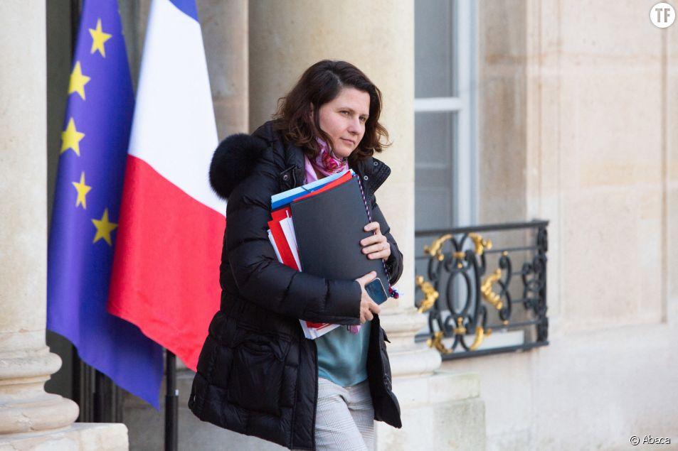 La ministre des Sports Roxana Maracineanu à l'Elysée le 24 janvier 2020