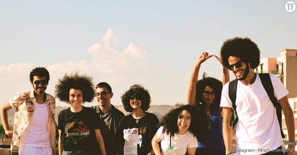 """""""Hrach is beautiful"""" célèbre les cheveux et la culture marocaine."""